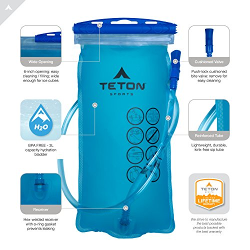 TETON Trinksystem-rucksack Oasis 1200 mit Trinkblase 3 Liter - 5