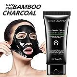 HARRYSTORE Blackhead Remover Hautpflege Creme Deep Clean Reinigung Bambus Holzkohle Black Mud Gesichtsmaske by