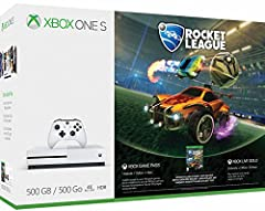 Idea Regalo - Xbox One S 500 GB + Rocket League + Live 3m [Bundle]