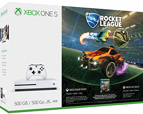 Xbox One S 500 GB + Rocket League + 3 mesi di Xbox Live Gold