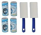 #9: Nyrwana Plastic Lint Roller Set of 6 ,120 sheets