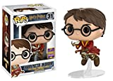 Funko - Figurine Harry Potter - Harry Potter on Broom SDCC 2017 Pop 10cm - 0889698147330