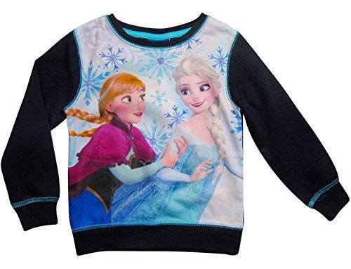 tion 2017 Die Eiskönigin Pullover 98 104 110 116 122 128 Mädchen Sweatshirt Neu Anna und Elsa Blau (122/128) (Disney Frozen Kollektion)