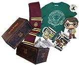 WOOTBOX- Box Harry Potter-Taille Boite Cadeau, 3665113000421, Bordeaux