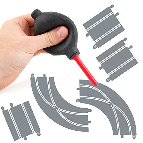 DURAGADGET Soplador Limpiador Para Piezas / Pistas De Scalextric Compact / Scalextric Original - ¡Ideal Para Limpiar El Polvo Y Mejorar El Contacto!