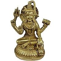 indiano dio Shiva busto figurine - Handcrafted