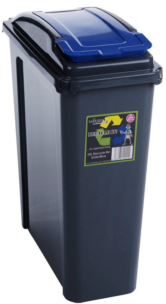 Wham-Recycling-Bin-25Ltr-Blue