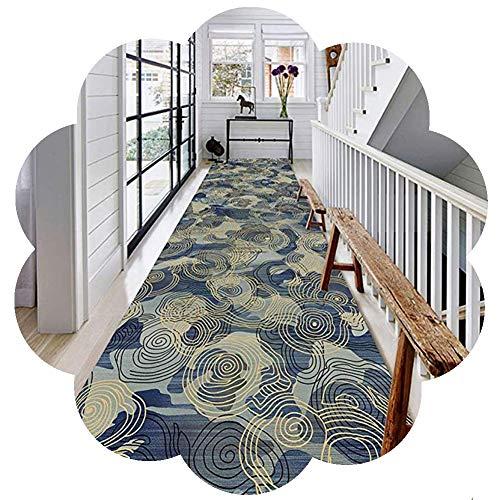 ZHAOHUI-Läufer Teppiche Flur Eingang Teppich rutschfest Extra Lange Niedriger Haufen Teppich Verschleißfest Anpassen, 6mm (Color : A, Size : 1.2x3.5m) -