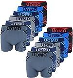 PiriModa 6/12 Pack Herren Jungen Boxershorts S-XL Junge Boxer Unterhose Unterwäsche Microfaser (S, Modell 1-12 STÜCK)