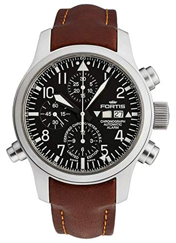 Fortis - Reloj de Pulsera para Hombre con Alarma de cronógrafo B-42 – edición Limitada – COSC analógico automático 657.10.11 L.18