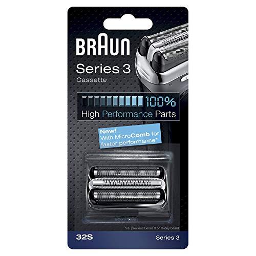 Braun 32S Ersatzscherteil Kombipack (Scherfolie mit integriertem Scherkopf)
