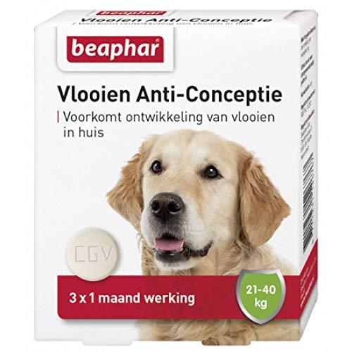 10 Mg 20 Tabletten (Beaphar Flohschutz für Hunde 20 - 40 kg.)