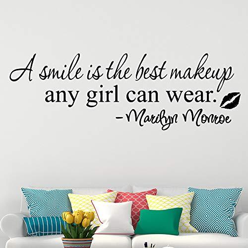 Marilyn Monroe Auto Accessoires - wujingsha Große Größe Marilyn Monroe Zitat