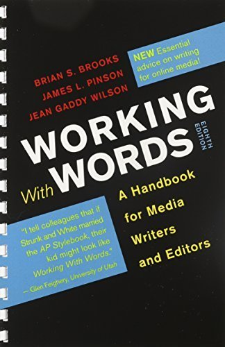 Working with Words 8e & Workbook for Working with Words 8e by Brian S. Brooks (2012-12-07)