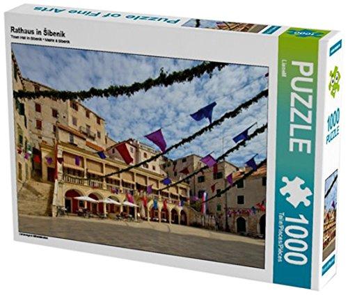 Preisvergleich Produktbild Rathaus in Šibenik 1000 Teile Puzzle quer: Unterwegs in Mitteldalmatien (CALVENDO Orte)