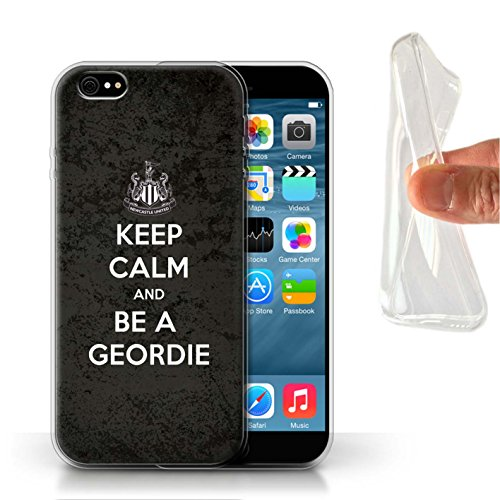 Officiel Newcastle United FC Coque / Etui Gel TPU pour Apple iPhone 6 / Pack 7pcs Design / NUFC Keep Calm Collection Geordie
