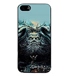 printtech Awesome Diety Summon God Back Case Cover for Apple iPhone 5S