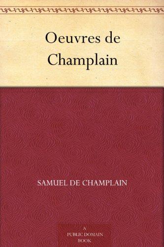 Couverture du livre Oeuvres de Champlain
