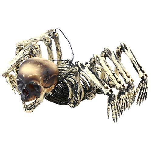 Eine Kostüm Zu Wolf Hause - Ggoddess Spinnen Schädel Skelett Kraken Verzierungen, Ghost Party Dekoration Haus hängende Requisiten, Halloween Partyzubehör
