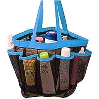 62ab4a3b03a 1 bolsa de almacenamiento para baño. KOBWA - Organizador de Ducha de Malla  de Secado rápido para Colgar en el Inodoro y