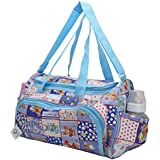 Mother Bag Baby Carry Bags Nappy Diaper Bag Mummy Multipurpose Multi Compartment By Indi Bargain (Blue)