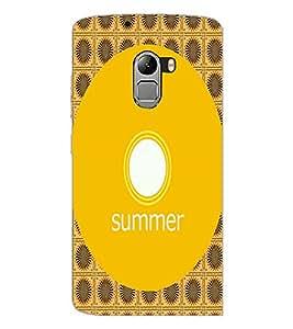 PrintDhaba Designer image D-4001 Back Case Cover for LENOVO K4 NOTE A7010a48 (Multi-Coloured)