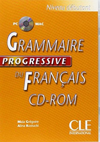 McDougal Littell Grammaire Progressive Du Francais: Niveau Debutant CD-ROM Level 2 por Jacques Henric