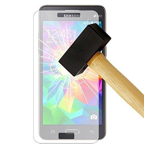 Générique F4557 Pack de 3 Films de protection d'écran en verre trempé pour Samsung Galaxy Grand Prime Transparent