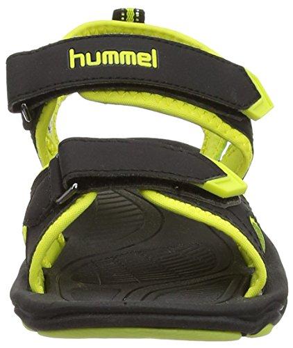Hummel Sandal Sport Jr, Sandales Unisexe enfant Noir (Black 2001)