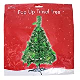 Anker Tisch Top Grün Pop Up Lametta Spirale Weihnachtsbaum 45cm