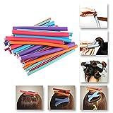 36pcs bigodini Spongia schiuma Twist riccioli DIY Styling Rollers capelli flessibili curling canne da parrucchiere strumento