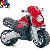 Rutsch Motorrad mit breiten Reifen, dient als Lauflernhilfe für die Kleinen, 72 cm, geeignet für Innen und Außen, Robust, Lauflernrad fürs Gleichgewicht, Kinder Bike, Motorrad Laufrad ab 18 Monaten