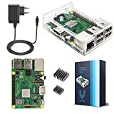 V-Kits Raspberry Pi 3 Model B+ (PLUS) Starter Kit Basic –Edizione Presa EU