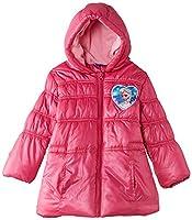 Disney Girls' Frozen Padded Raincoat, Fushy, 8 Years