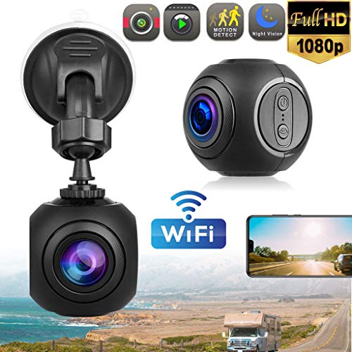 Dkings Mini Dash Cam Full HD 1080P,