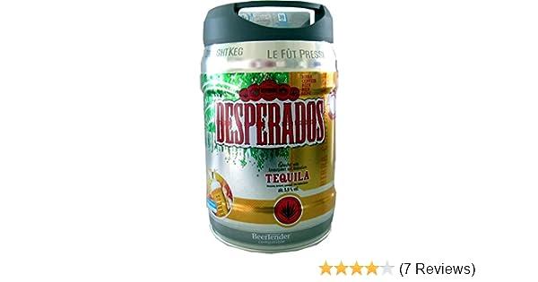 Mini Kühlschrank Desperados : Desperados bier mit tequila im liter fass inkl zapfhahn amazon