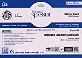 Solved Scanner CMA Inter Group-II (2016 Syllabus) Paper-12 Company Accounts and Audit (Updated as per Companies Act, 2013) (Dec 2018 Exam)