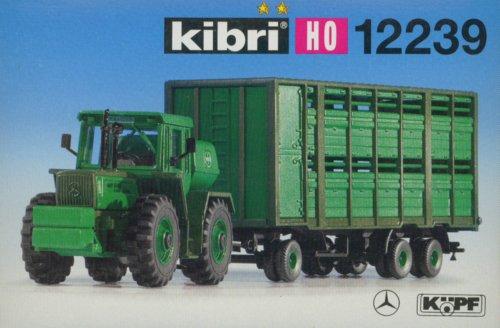 Preisvergleich Produktbild kibri 12239 - Traktor MB Trac mit Hänger