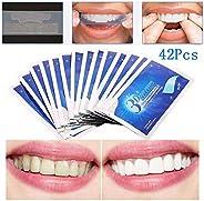 Teeth Whitening Strip, Dental Care Kits, Elastic Advanced Tooth Whitening Gel Bleaching System Cleaning Teeth