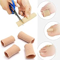 Yosoo Hammer Toe Finger Kissen Gel Tube Finger Protector Toe Separatoren -2 Silikon Wide & Narrow Tubes / Sleeves... preisvergleich bei billige-tabletten.eu