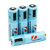 AA Batteries Rechargeable Pancellent Pre-charged 1.2V 1000mAh Ni-MH - Best Reviews Guide