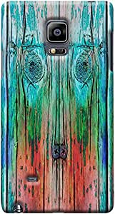 Kasemantra Wooden Plank Case For Galaxy Note Edge