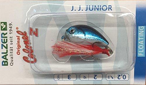 Balzer Colonel Z J.J. Junior 3cm 30mm 2g Weißfisch Blau 13498003 Wobbler Lauftiefe 0,2m