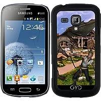 Custodia per Samsung Galaxy S Duos S7562 - Drago Lotta