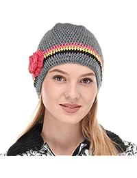 VR Designers Hand-Knitted Crochet Women Cap