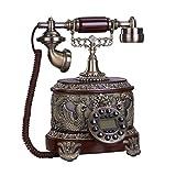 Antike Telefon, Kreative Classic Vintage/Antik Telefon Büro Deko/Feste Home Phone 25 X 22 X 31 Cm Handy (color:#1)