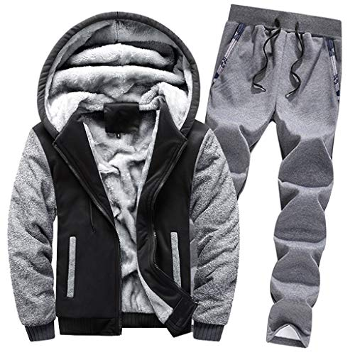 Luckycat Herren Strickjacke Cardigan Beiläufige DünneStrickpullover mit Kapuze Kapuzenpullover Pullover Männer Hoodie Winter warme Fleece Zipper Sweater Jacke Outwear Mantel