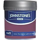 Johnstones No Ordinary Paint Water Based Interior Vinyl Matt Emulsion Deep Amethyst 75ml
