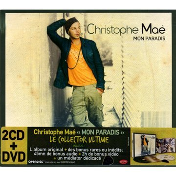 Christophe Mae Mon Paradis - Mon paradis (Coffret 2 CD + 1