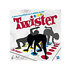 Idea Regalo - Hasbro Gaming - Twister (Gioco in Scatola), 98831103